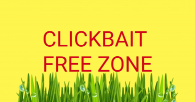 From today Snuuz will be a click bait free zone!